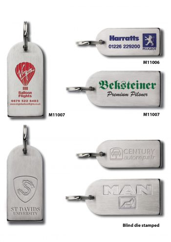 Stainless Steel Keyrings